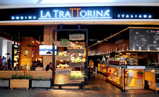 La trattorina cali centro comercial jard n plaza for Aviatur cali ciudad jardin