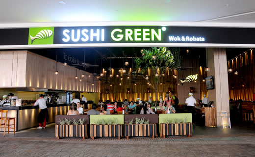 Sushi green ampliaci n cali centro comercial jard n plaza for Bodytech cali jardin plaza