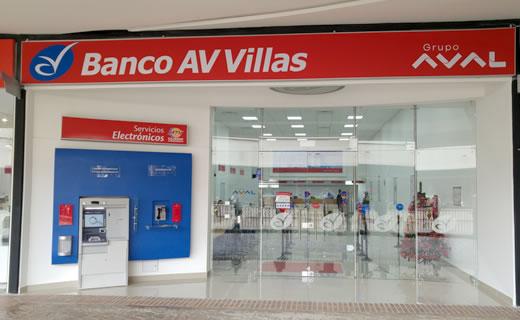 Banco AV Villas Cali » Centro Comercial Jardín Plaza.
